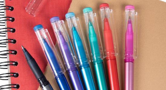 7 couleurs erasable gel