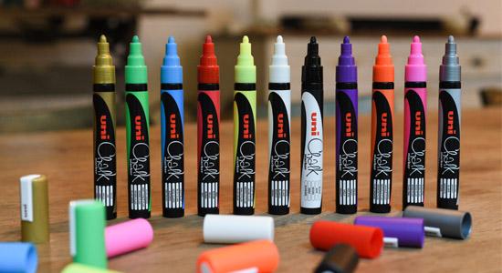 chalk marker marqueur craie