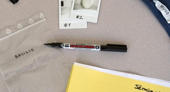 super ink marker marqueur huile fin