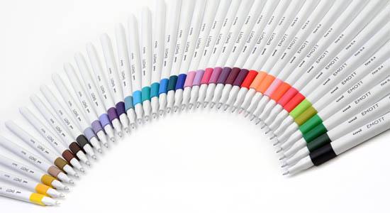 emott 40 couleurs
